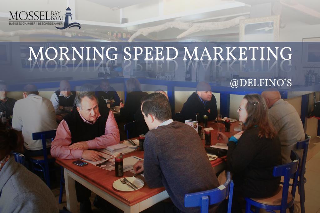 Morning Speed Marketing at Delfino's
