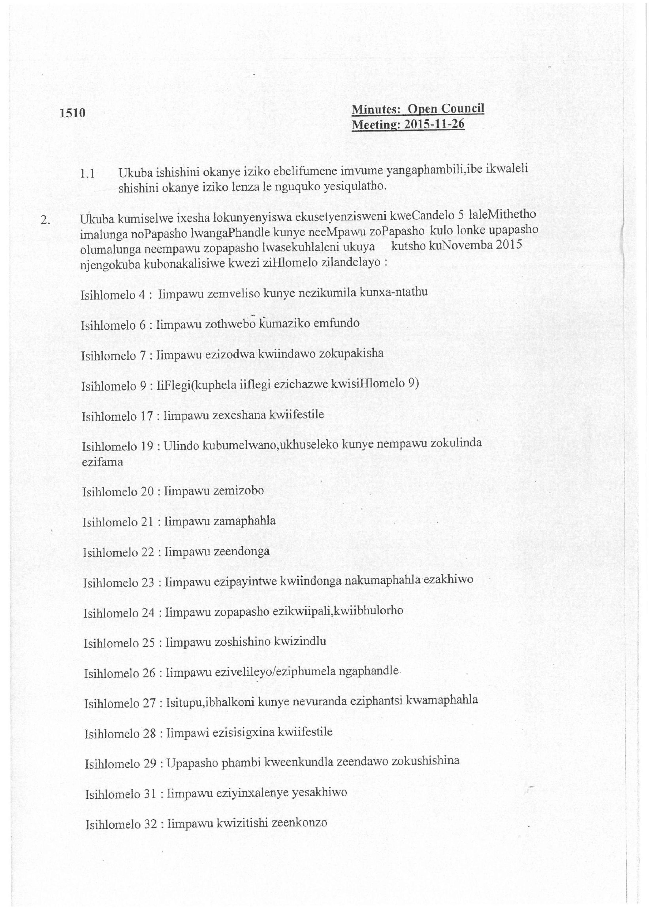 Mossel Bay Chamber beleid_4