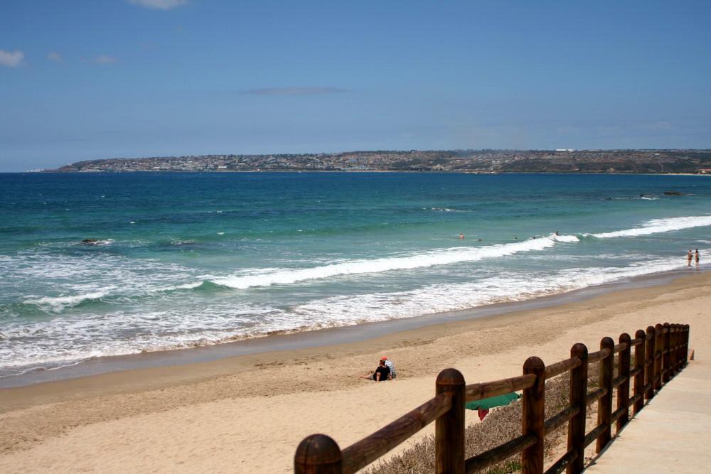 hartenbos beach in mossel bay western cape