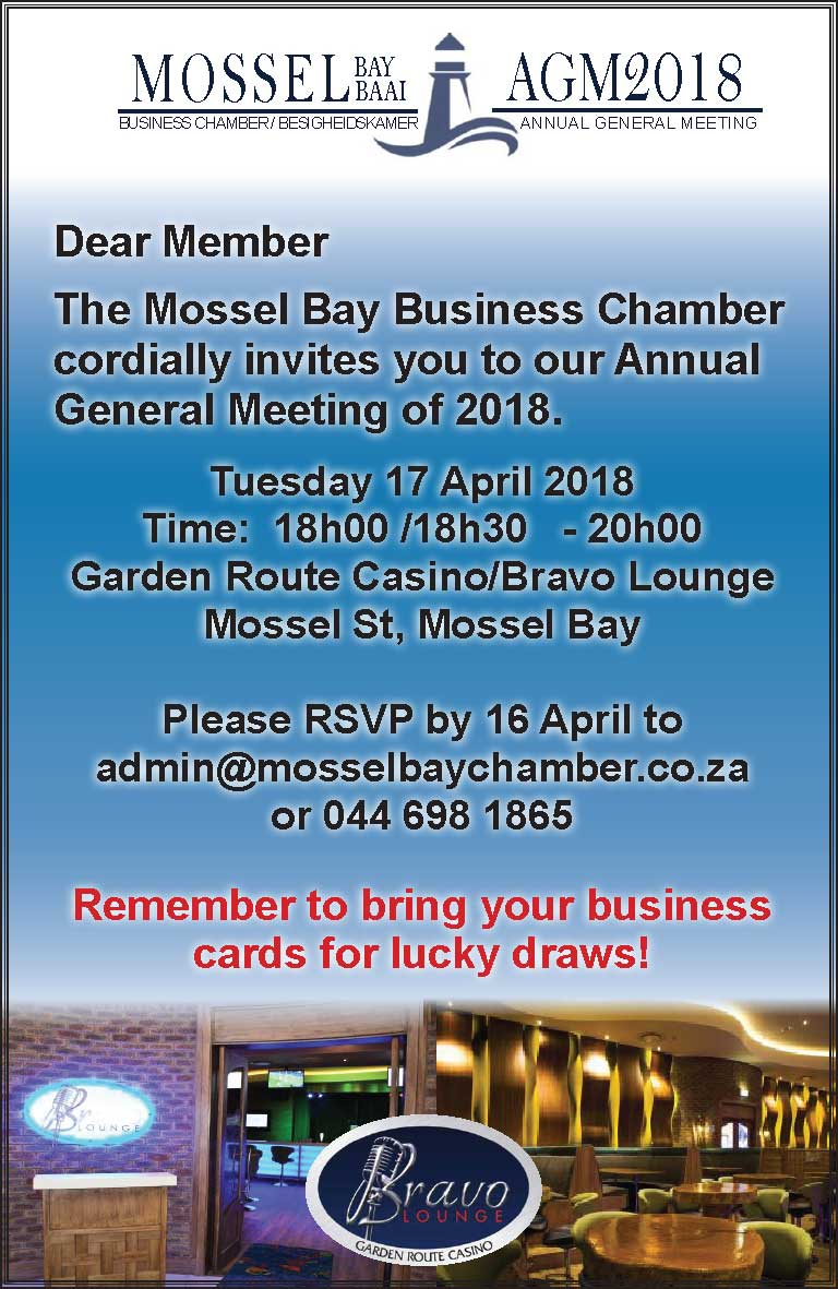 Annual General Meeting Invitation 2018